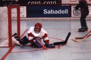 Iniciación al hockey línea