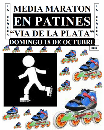 MEDIA MARATÓN EN PATINES VIA DE LA PLATA