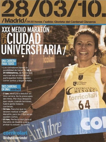 Media Maratón Universitaria 2010 – Madrid