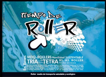 Nueva revista de patinaje – Tiempo de Roller