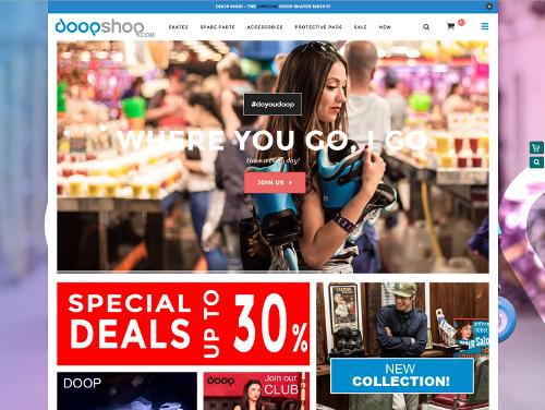DoopShop.com – Nueva tienda oficial de patines Doop