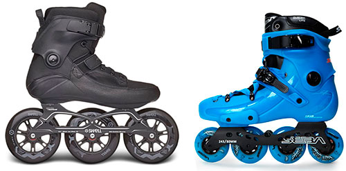 Patines de Fitness vs patines de Freeskate, el eterno dilema