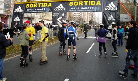CRÓNICA DE LA MITJA MARATÓ DE GRANOLLERS