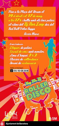 Roller Disco en patines en Barcelona