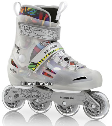 Rollerblade Fusion X3 Silver