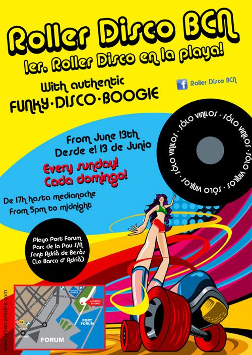 Roller Disco BCN 2010